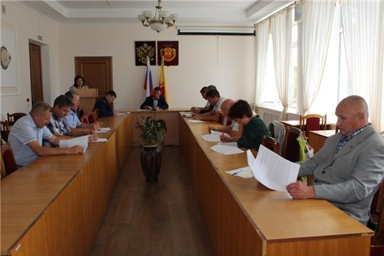 Состоялось заседание постоянных комиссий Урмарского районного Собрания депутатов