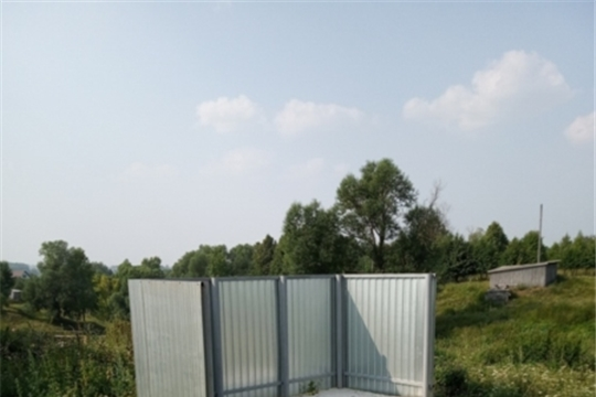 Обустройство контейнерных площадок для ТКО в Кудеснерском сельском поселении