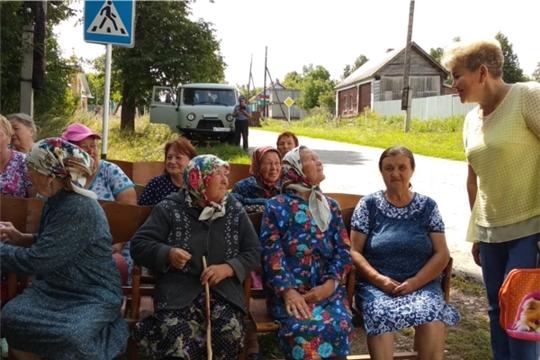 Участковая служба в д. Новое Муратово Тегешевского сельского поселения
