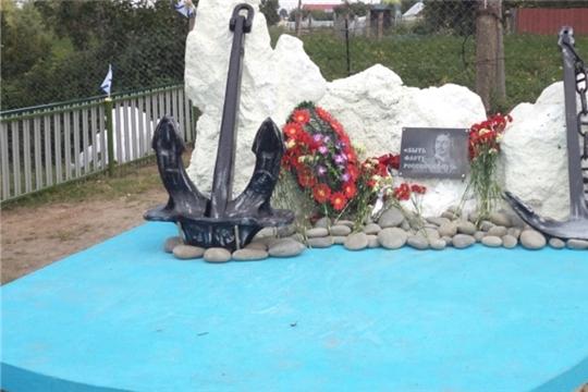 В деревне Шихабылово открыли памятник воинам - морякам и морским пехотинцам