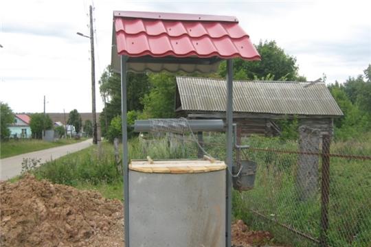 В деревне Новое Муратово Тегешевского сельского поселения по программе «Инициативное бюджетирование» вместо одного обустроили два колодца водоснабжения