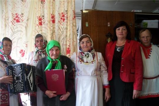 Поздравляем с 90 - летием жительницу д.Орнары Шишкину Нину Васильевну