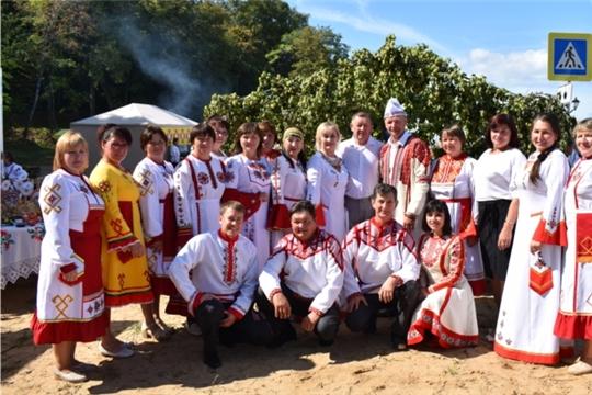 Урмарский район принял участие в праздновании Дня рождения города Чебоксары