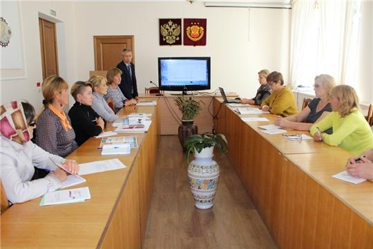 Учебный семинар с председателями, заместителями председателей и секретарями УИК