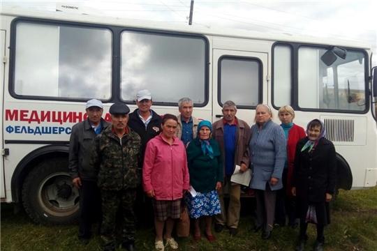 Мини-поликлиника на колесах провела прием населения в селе Вознесенское