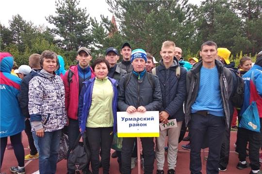 Легкоатлеты Урмарского района - участники Всероссийских соревнований по традиционным видам спорта