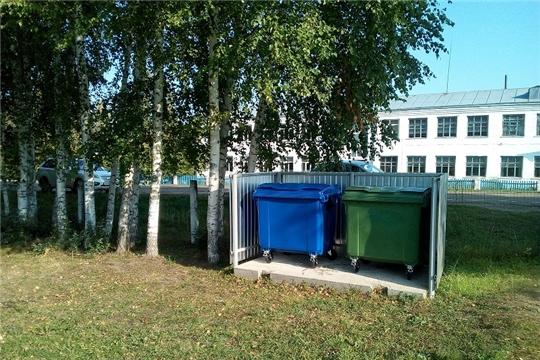 В Чубаевском сельском поселении завершаются работы по расстановке контейнеров на площадки ТКО
