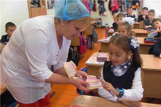 Уроки здоровья в образовательных школах Урмарского района