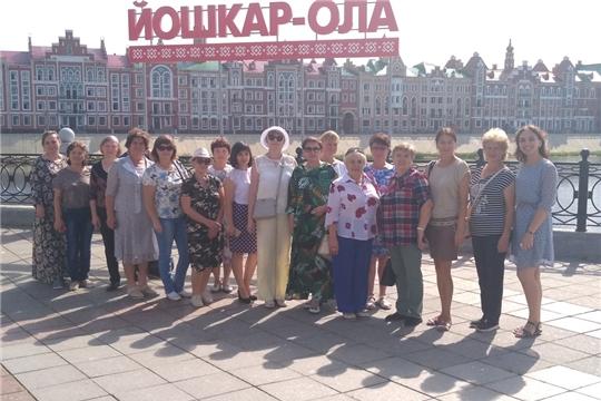 Состоялось выездное заседание Урмарского отделения Союза женщин Чувашии в г. Йошкар-Ола