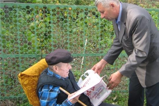 Ветеран труда из деревни Тегешево Ульянов Виталий Васильевич перешагнул 90 – летний рубеж