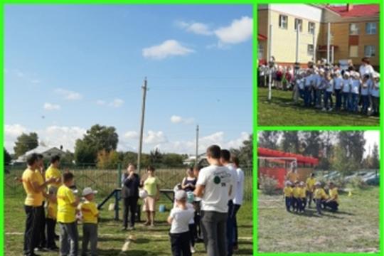 На базе детского сада Родничок состоялась товарищеская встреча по футболу