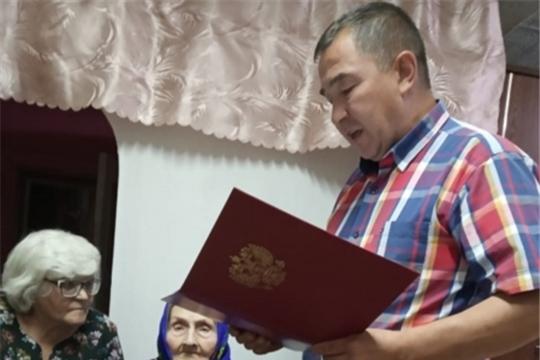 100 -летний юбилей М.К. Огурцовой