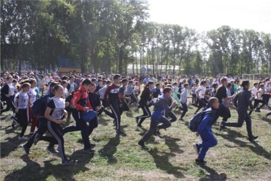 21 сентября на центральном стадионе п. Урмары состоится Всероссийский день бега «Кросс Нации-2019»