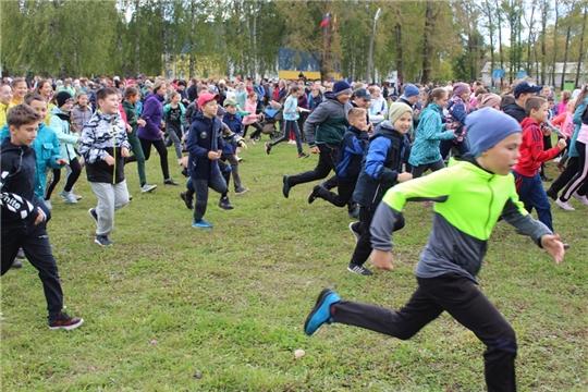 «Кросс нации-2019»: более 2600 любителей спорта Урмарского района участвовали в этом спортивном празднике