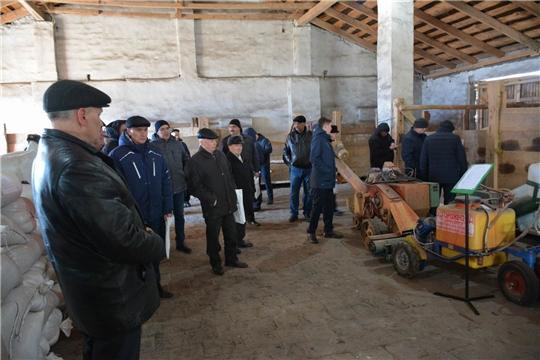 На агроинженерной конференции в Вурнарском районе обсуждены актуальные вопросы перед началом весенне-полевых работ