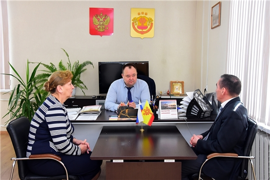 Руководитель Госветслужбы Чувашии посетил Ибресинский район