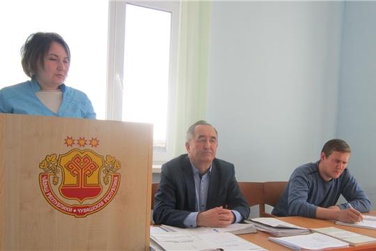 Совещание ветспециалистов Батыревского района