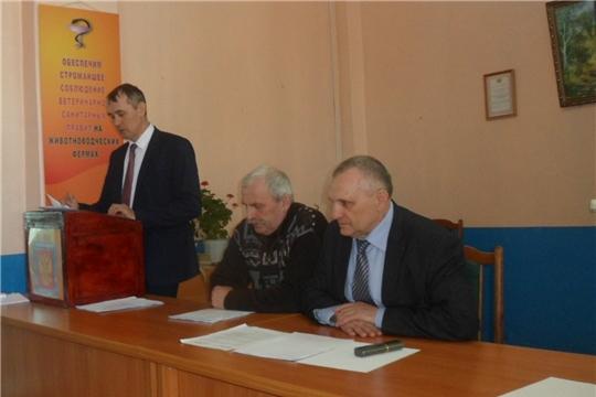 В Вурнарском районе прошел семинар с техниками-осеменаторами и зооветспециалистами сельскохозяйственных предприятий