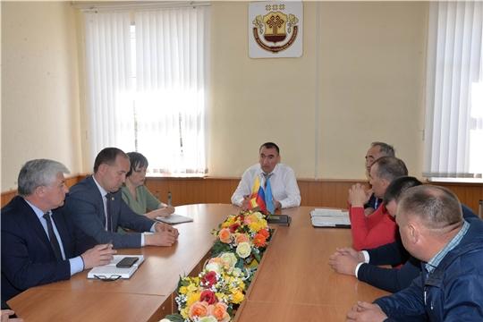 Рабочий визит руководителя Службы в Батыревский район
