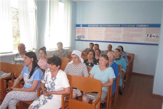 Проведено совещание с предпринимателями Батыревского района, занимающимися содержанием и реализацией сельскохозяйственной птицы
