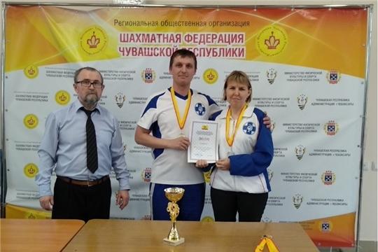 Коллектив Госветслужбы Чувашии принял участие в соревнованиях по шашкам и шахматам
