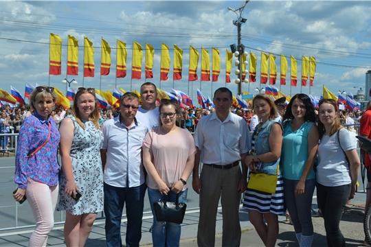Коллектив Госветслужбы Чувашии принял участие в мероприятии, посвященном Дню России
