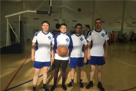 Команда Госветслужбы Чувашии достойно выступили на соревнованиях по баскетболу между ОИВ