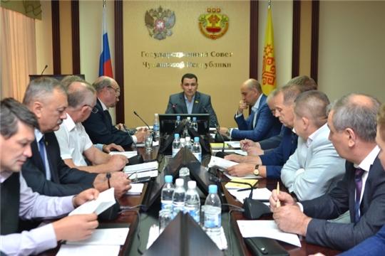 Руководитель Госветслужбы Чувашии Сергей Скворцов принял участие в заседании Комитета по экономической политике, агропромышленному комплексу и экологии
