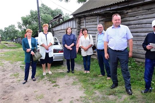 Совещание с руководителями сельхозпредприятий Ибресинского района