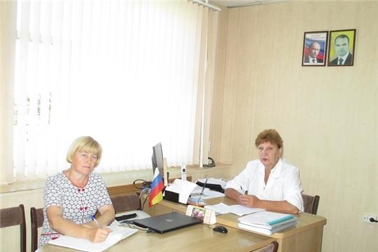 Рабочее совещание ветеринарных специалистов Ибресинского района