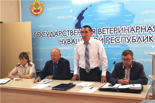Итоги деятельности Государственной ветеринарной службы Чувашской Республики за 6 месяцев 2019 года