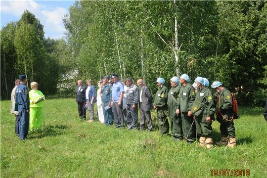 Командно-штабные учения в Козловском районе