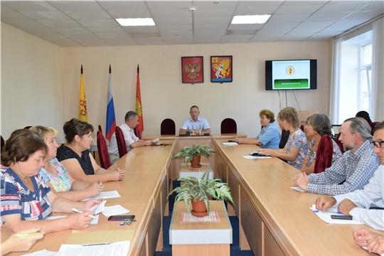 В Красночетайском районе подведены итоги работы отрасли сельского хозяйства за первое полугодие
