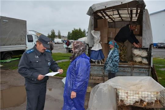 В Вурнарском районе проводятся мероприятия по профилактике гриппа птиц