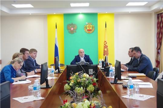 Сергей Скворцов принял участие в совещании по пчеловодству в Минсельхозе Чувашии