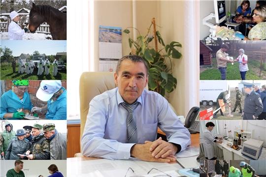 Поздравление Руководителя Госветслужбы Чувашии с Днём ветеринарного работника