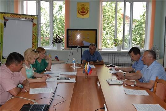Состоялось заседание Общественного Совета Вурнарского района