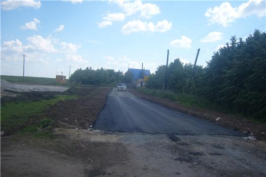 В деревне Старые Шорданы строится новая дорога
