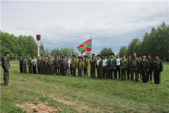 В Ершипосинском сельском поселении состоялся VII Слет пограничников