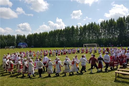 В деревне Хорнзор состоялся Республиканский фестиваль чувашского фольклора и празднование Дня деревни