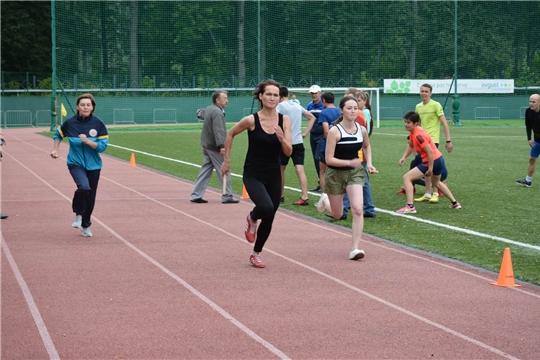 В день физкультурника в Вурнарском районе проходят массовые соревнования