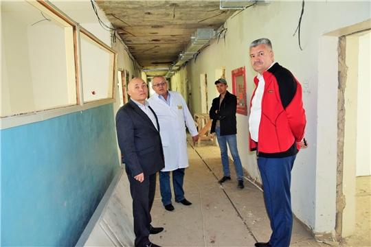 Рабочий визит министра здравоохранения Чувашии Владимира Викторова в Вурнарский район