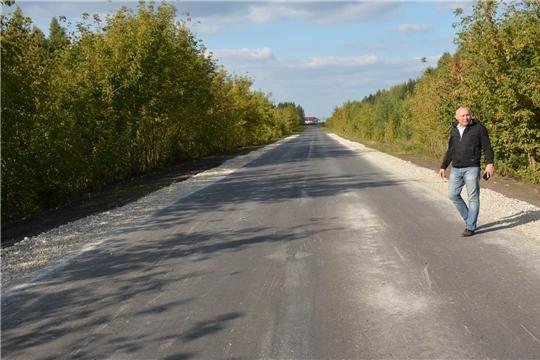 Глава администрации района ознакомился с ходом проведения ремонтных работ на дорогах
