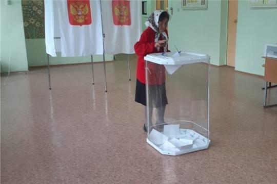 На 12 часов дня в Вурнарском районе проголосовали 78,57 % избирателей
