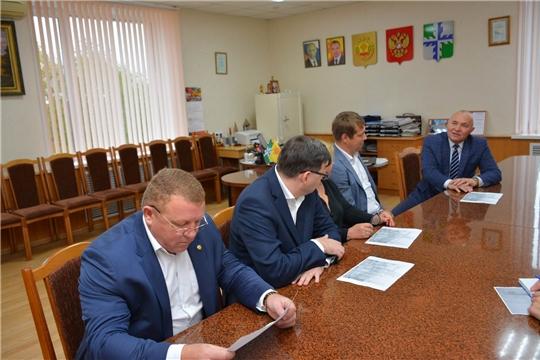 В администрации района обсуждены актуальные вопросы системы ЖКХ