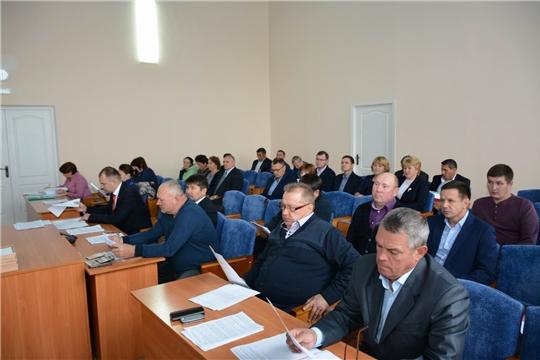 На 48-м внеочередном заседании Вурнарского районного Собрания депутатов обсуждены актуальные вопросы
