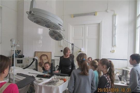 В дни весенних каникул посещение художественно - краеведческого музея