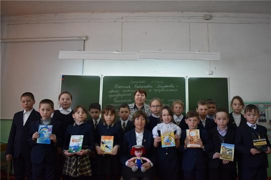В МБОУ «Персирланская ООШ» прошла встреча с автором поэтических и прозаических произведений, нашей землячкой Натальей Мазюковой
