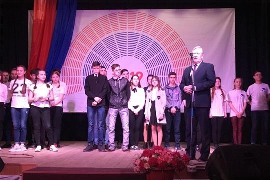 «Весь мир театр, а люди в нём актеры»: в Ядринском районе прошел фестиваль-конкурс молодежных команд КВН