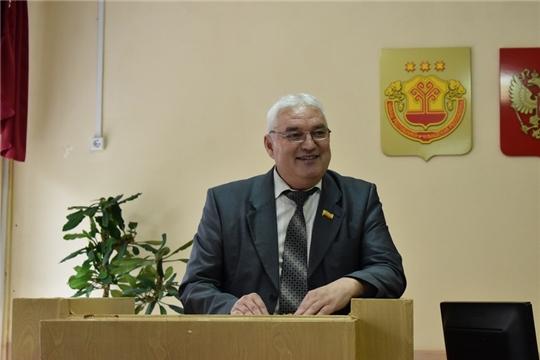 Сегодня состоялось сорок второе очередное заседание Ядринского районного Собрания депутатов шестого созыва